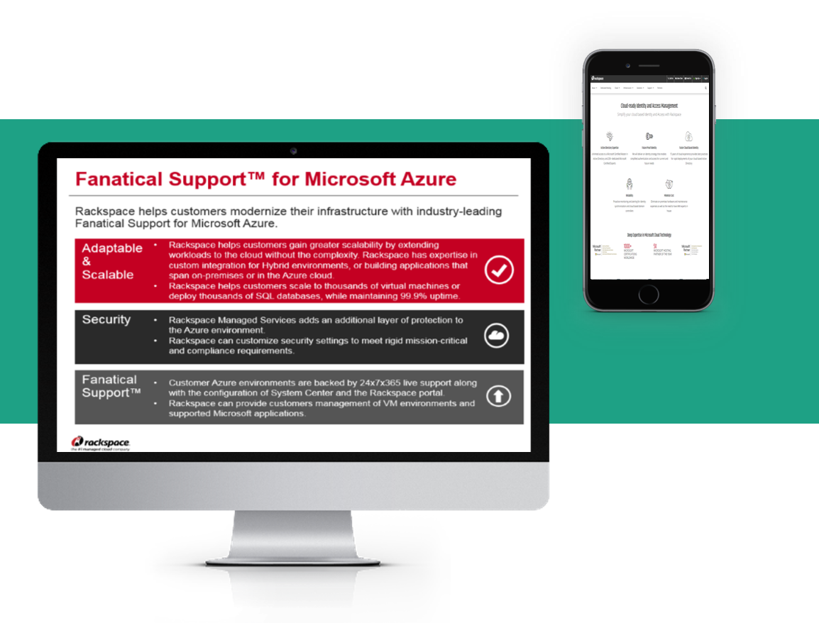 Rackspace launches Fanatical Support® for Microsoft® Azure™