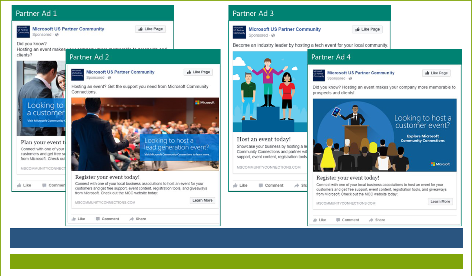 Microsoft Facebook Campaign Exceeds Benchmarks