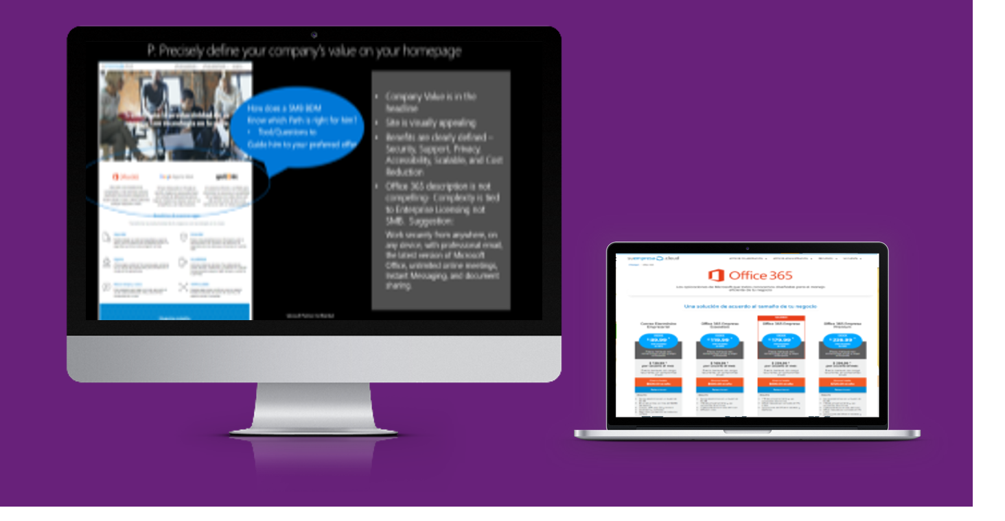 EMM Creates Office 365 Sales Materials for a Spanish-speaking Audience