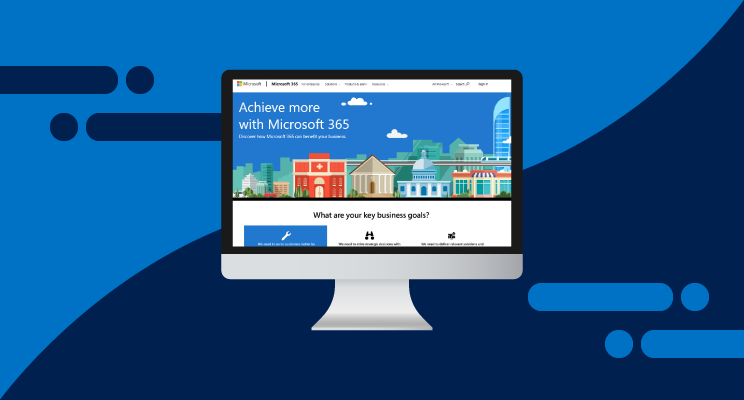 Microsoft 365 Website & Customer Journey